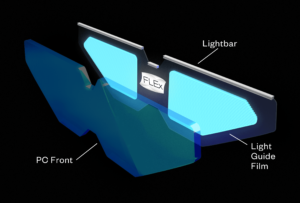 graphic of ultra-thin front light panel