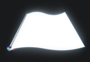 A Front Light Panel with Light Bar