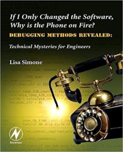 If I only changed the software, why is the phone on fire book cover