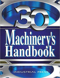 Machinery's handbook book cover